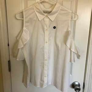 Abercrombie and Fitch cold shoulder blouse